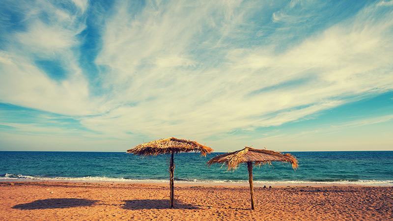 Praias tranquilas de Maceió